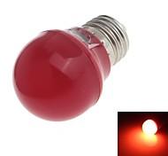Zweihnder E27 3W 280LM 6000-6500K 8x2835 SMD Red Light Bulb Lamp  (100- 240V)