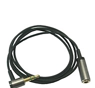 0.9m 90 grados 3.5mm macho a macho cable de audio auxiliar para ipod iphone mp3 mp4