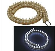 carking ™ PVC-48cm flexible wasserdichte LED-Lichtleiste für Autos / Motorräder-2pcs