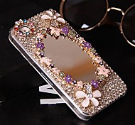 Luxury Mirror Surface Models with Diamond Hard Back Cover for iPhone 5 /  iPhone 5S