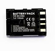 1100mAh Batterie-Videorecorder bn-V408U für JVC GR-dvl567 gr-d22 gr-gr-dvl105u DZ7 gr-dv3000
