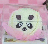 Birthday Gift Panda Shape Fiber Creative Towel (Random Color)