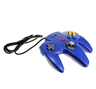 usb n64 controlador pc design azul