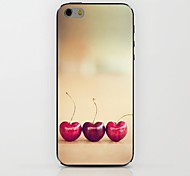 Three Cherries Pattern hard Case for iPhone 6