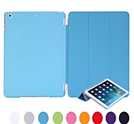 Natusun™ Solid Color PC Pan amd PU Leather Case with Ultrathin Leisure Dormancy for iPad Mini 3/2/1(Assorted Colors)