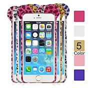 Angibabe TPU+PC Leopard Print Phone Back Cover for iPhone 6 (Assorted Colors)