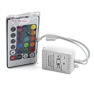 6A 24 Key IR Remote Controller Wireless for 3528 5050 RGB Strip