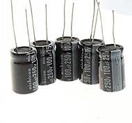 Electrolytic Capacitor 100UF/250V DIY Project (5PCS)