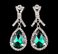 Fashion Grade Rhinestone Pop Drop Earrings