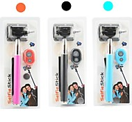 Selfie Extendable Handheld Monopod with Mobile Phone Holder and Bluetooth Remote Shutter for iPhone