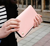 PU Multi Wallet Purse for iPhone And Samsung (Assorted Color)