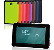 8 Inch Three Folding Pattern  PU Leather Case with Stand  for DELL Venue 8 (Assorted Colors)