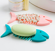Creative Fishbone Shape Soap Dish K3522