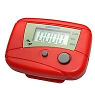 multi-función digital LCD de paso podómetro electrónico caminando calorías ejecutar consume contador del metro
