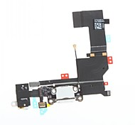 Dock Connector Charger Charging Port and Microphone Headphone Jack Flex Cable Ribbon Repair Parts for iPhone 5S
