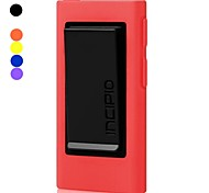 TPU Soft Gel Cover Belt Clip Protection Shell for iPod Nano 7(Assorted Colors)