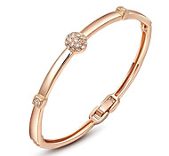 ROXI  Women  Bangles,Fashion Women Jewelry,Rose Gold Plate,Austrian Crystal,Chrismas/Valentine'S Day Gifts