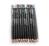 profissional 24 horas duradoura impermeável líquido colorido lápis delineador 12 pcs