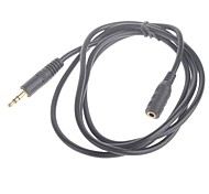 1.5M 3.2FT 3.5mm Male to Femal Extension Audio Connection Cable