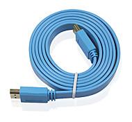 XMW M113 5m 16.4ft hdmi v1.4 maschio a cavi di collegamento TV a schermo maschi supportare 1080p