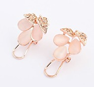 European Style New Fashion Boutique Grape Earrings