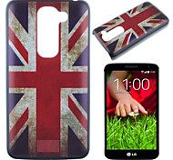 National Flag Pattern PC Hard Case for LG G2 mini