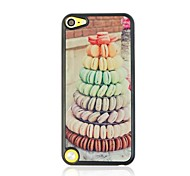 Macarons Cake Pattern Plastic Hard Case for ipod touch 5