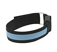 LED Light Arm Band Strap Armband Blue  (2xCR2032)
