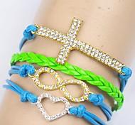 Women's Chain/Fashion/Personalized Bracelet Rope Rhinestone