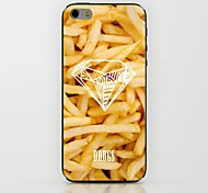 French Fries Pattern hard Case for iPhone 6