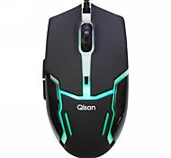 Qisan X5 Chameleon 2000DPI USB Gaming Opitcal Mouse