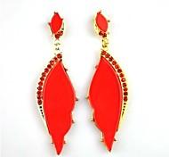 Europe Angel Wings Drop Earrings (Hualuo Jewelry)