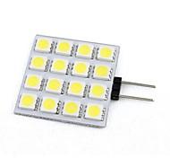 G4 1 W 16 SMD 5050 206 LM Warm White/Cool White Decorative Bi-pin Lights DC 12 V