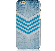 Broken Line Pattern Hard Back Case for iPhone 6