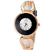 Women's Fashionable PU Band Quartz Wrist Watch (Assorted Colors)