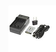 Ismartdigi-Nik EN-EL11(680mAh,3.7V) Camera Battery+EU Plug+Car Charger For Nikon S550 S560 S660  Li-60B/DB-80/DB-L70