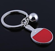 High Quality Zinc Alloy  Ping-pong Style Keychain