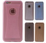 EIMO silicium mince étui souple avec transparence&bling pour l'iphone 6 4.7 (couleurs assorties)