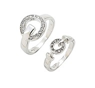 Diamond Lovers Ring(RandomSize)