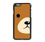 Cute Bear Pattern Aluminum Hard Case for iPhone 6