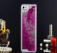 Iphone5/5s liquid mobile phone shell shell stars quicksand(Assorted Coior)