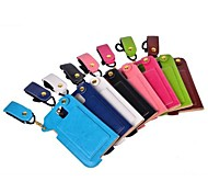 TPU Leather Case Lanyard Pattern with Hand Strap for Samsung Galaxy S5 I9600 (Assorted Colors)