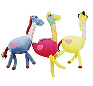 Animals Shape Plush Sound Pets Toy Assorted Color