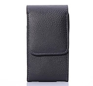 Lychee Pattern Protective PU Leather Case with Belt Clip for iPhone 6