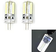 Bi-pin Lights , G4 W 64 SMD 3014 200 LM Cool White V