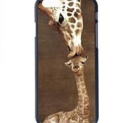 Giraffe Pattern Hard Back Cover for iPhone 6