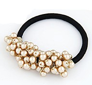 Fashion Sweet Ball Pearl Hair Ties