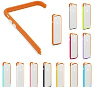 DIY Orange Color and Solid Color Combination Design Bumper Frame Case for iPhone 6 (Assorted Colors)