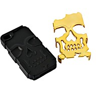 3D Silicone and Metal Fashion Cool Skulls Back Case Cover for iPhone 6 Plus(Assorted Colors)