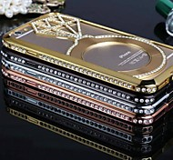 All Over the Sky Star Studded Solid Metal Bumper Frame Case for iPhone 6 (Assorted Colors)